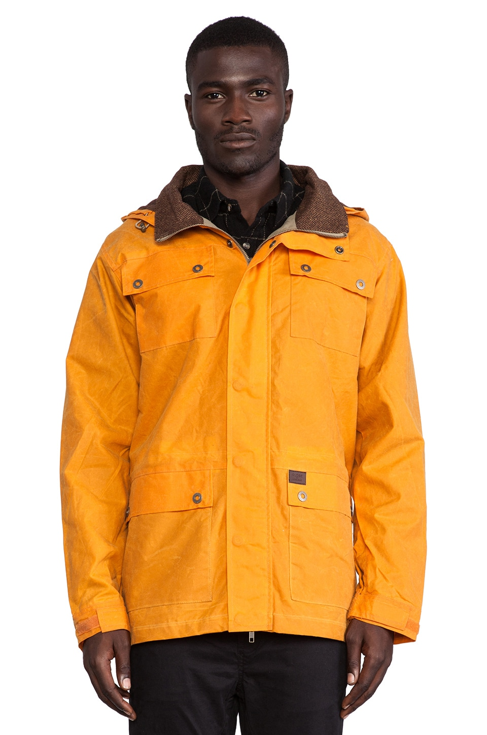 Globe Drizabone Jacket II in Orange