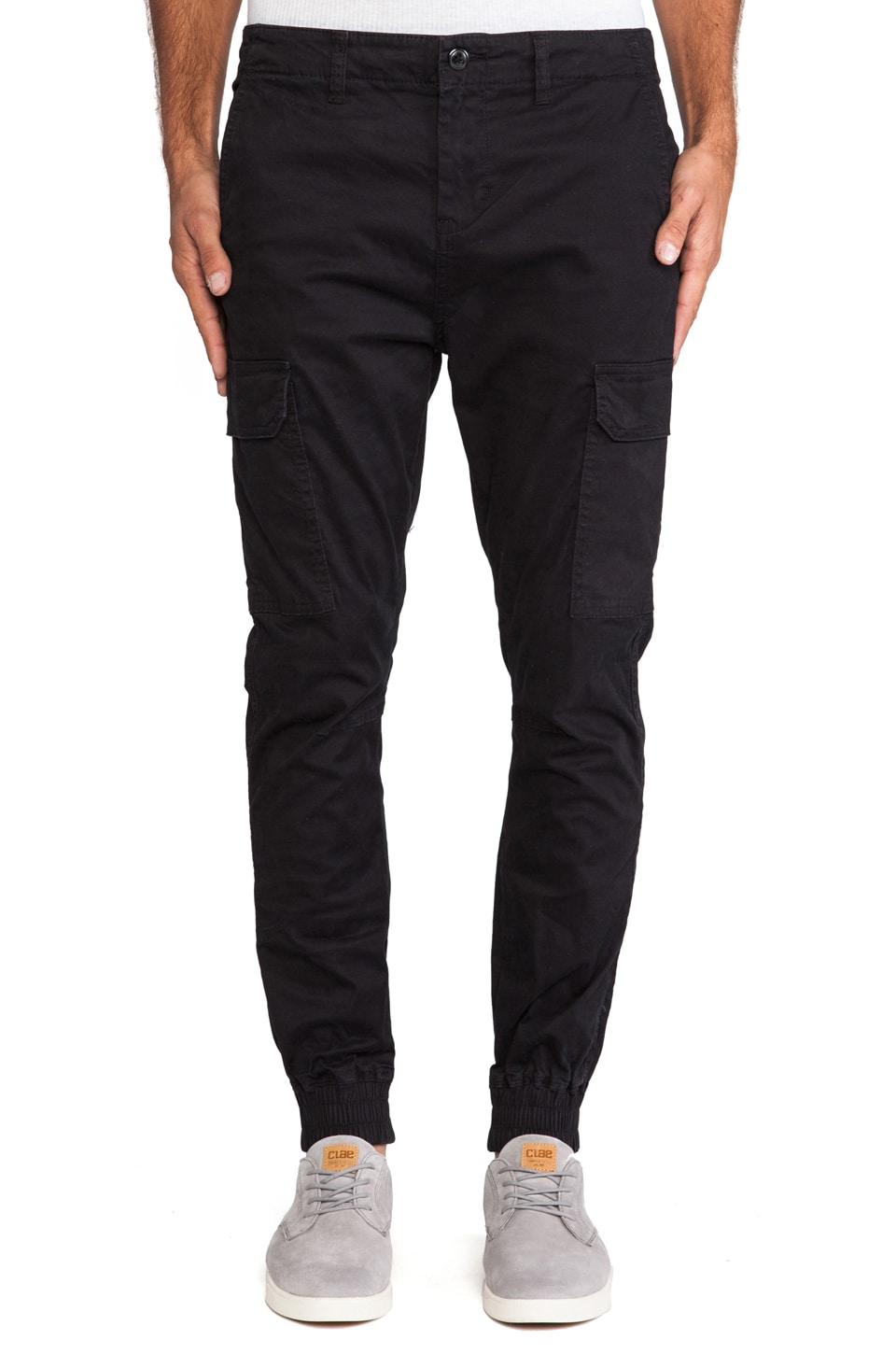 Globe Goodstock Slim Cargo in Black