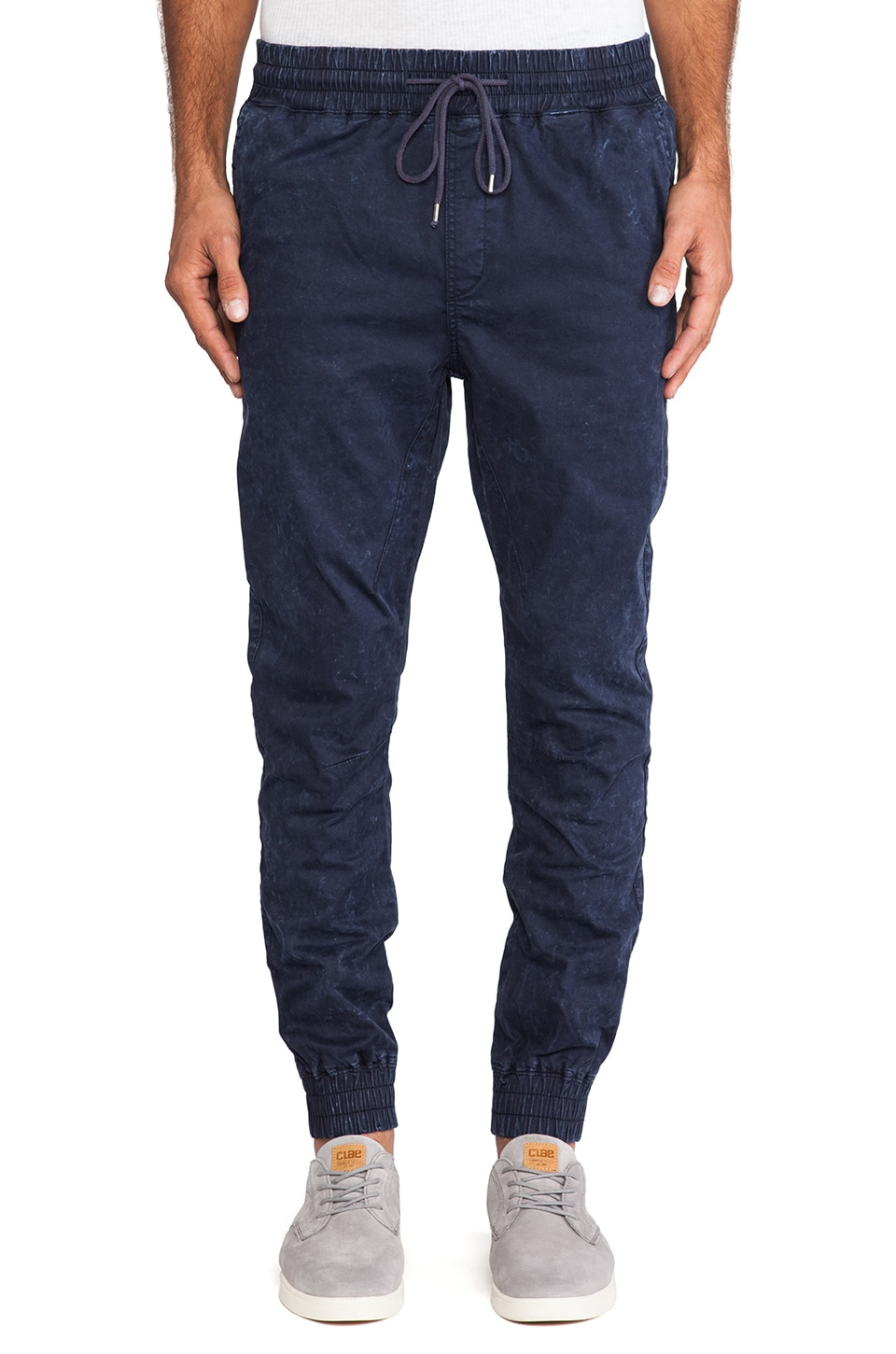 Globe Goodstock Jogger Pant in Acid Blue