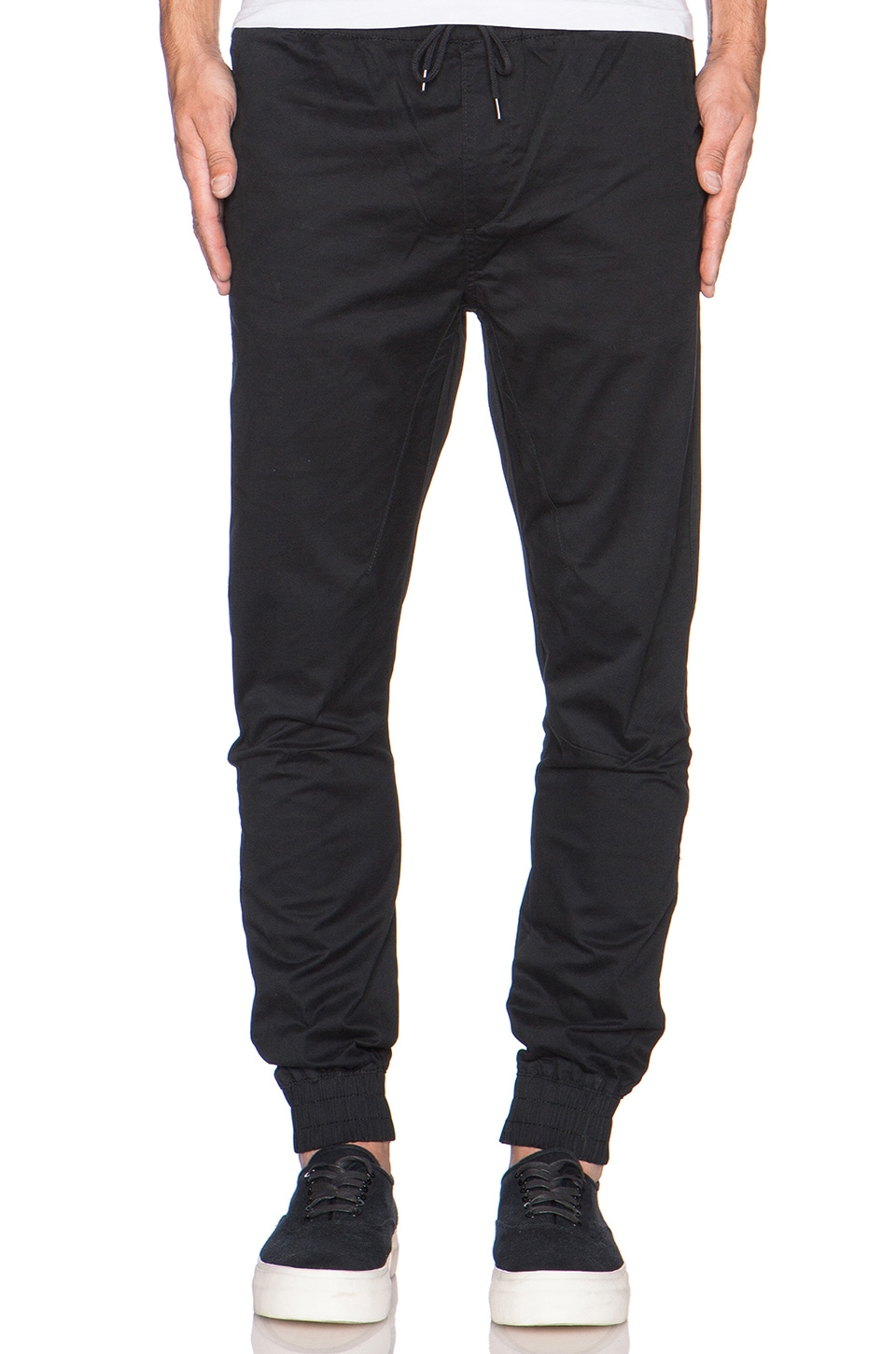 Globe Goodstock Jogger Pant in Black