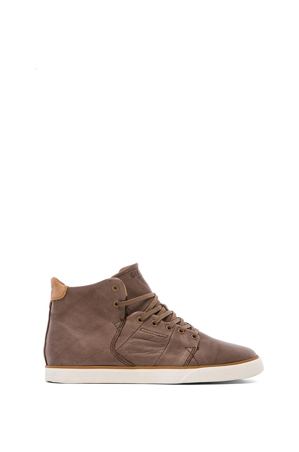 Globe Los Angered Sneaker in Brown Fog