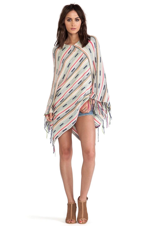 Goddis Jessie Poncho Sweater in St. Tropez