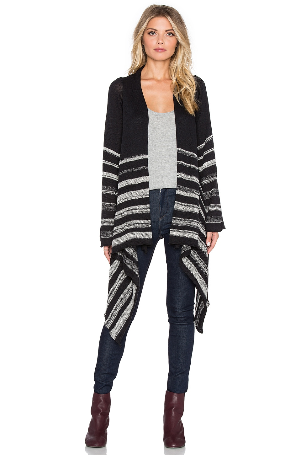 Goddis Naples Cardigan in Valor
