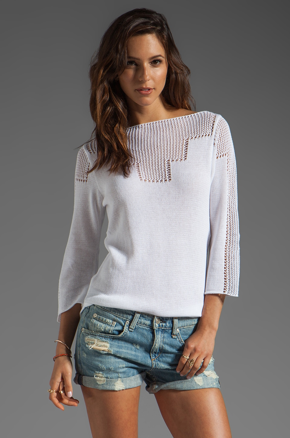Goddis Freedom Pullover in Lace