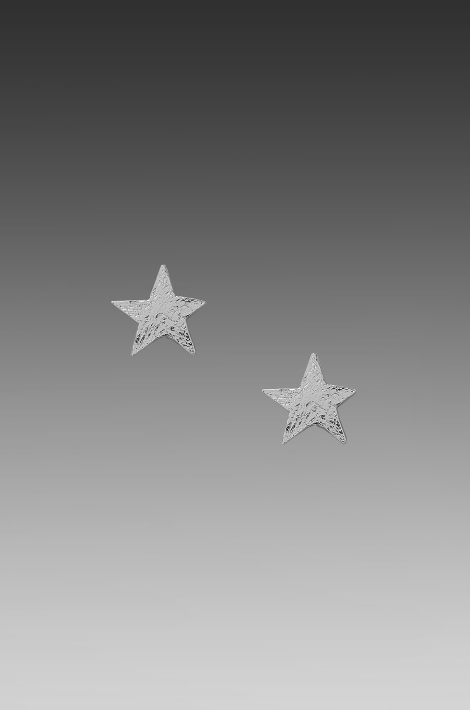 gorjana Small Star Studs in Silver