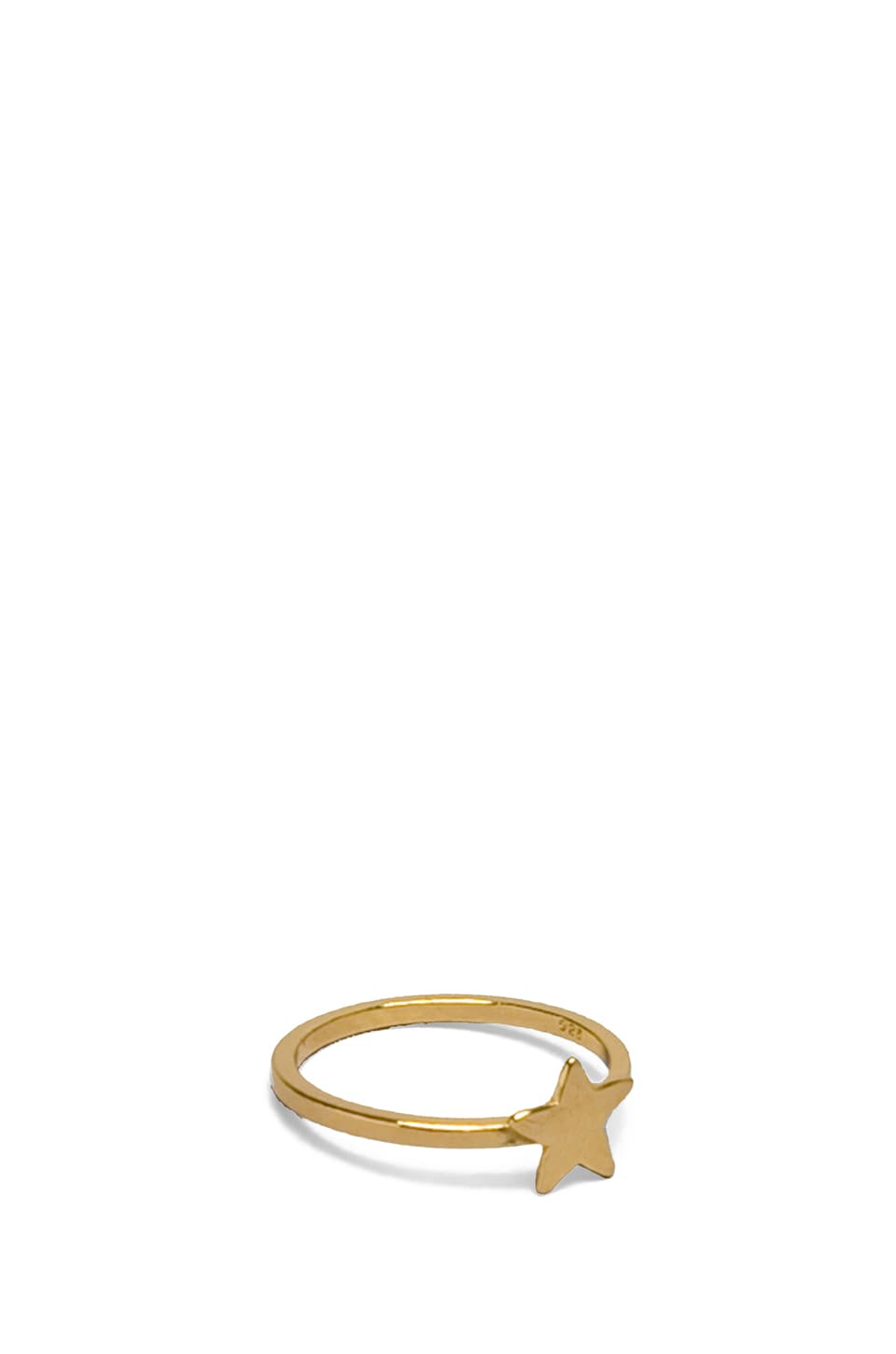 gorjana Star Ring Small in Gold