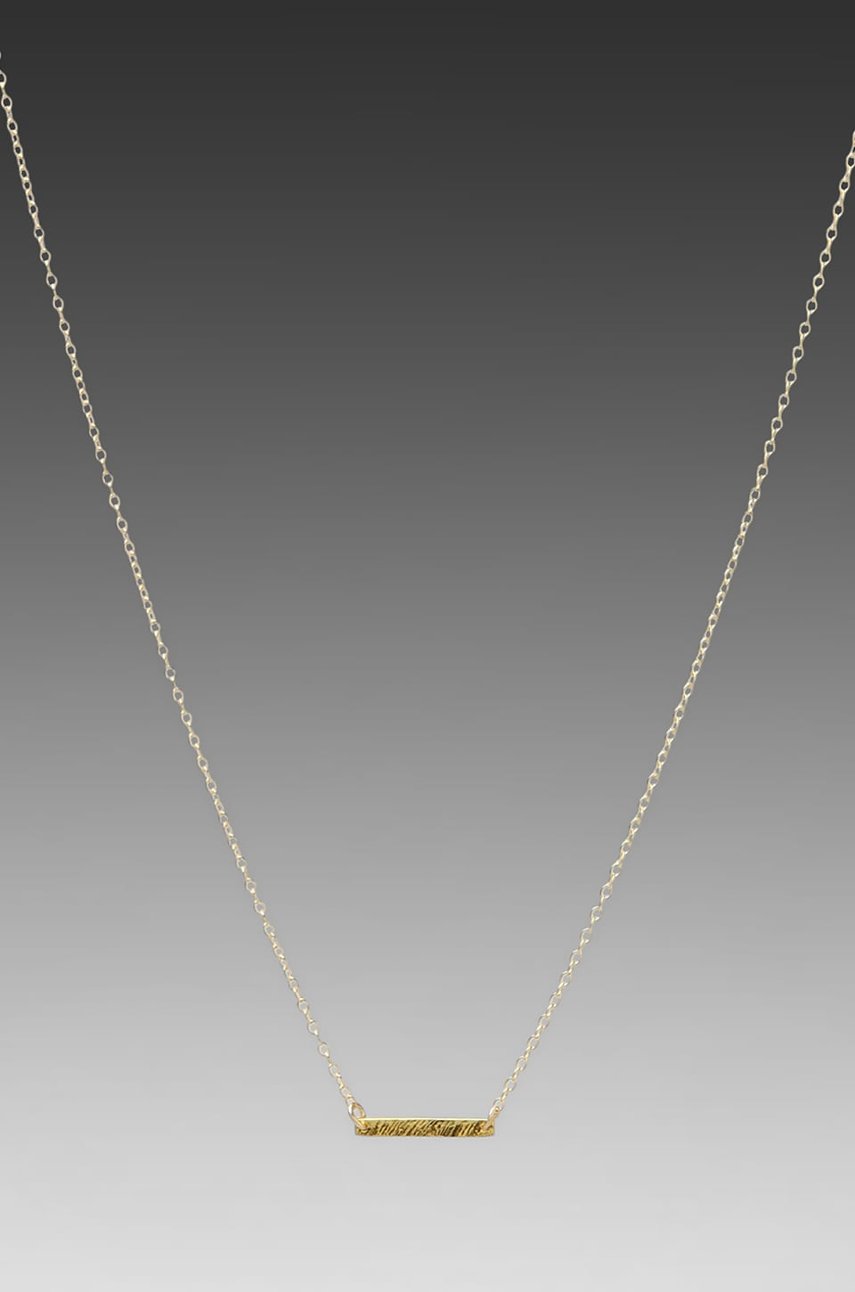 gorjana Knox Necklace in Gold