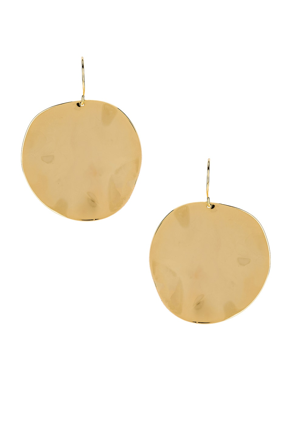 gorjana Chloe Large Earrings in Gold