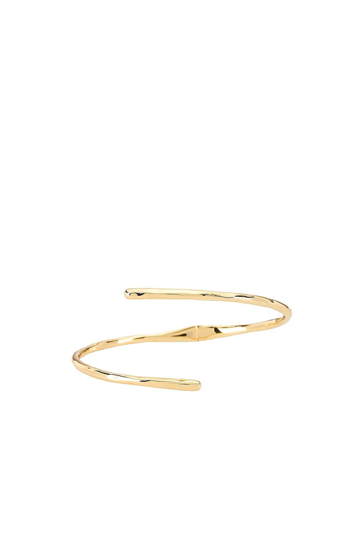 gorjana Taner Coil Hinge Cuff Bracelet in Gold