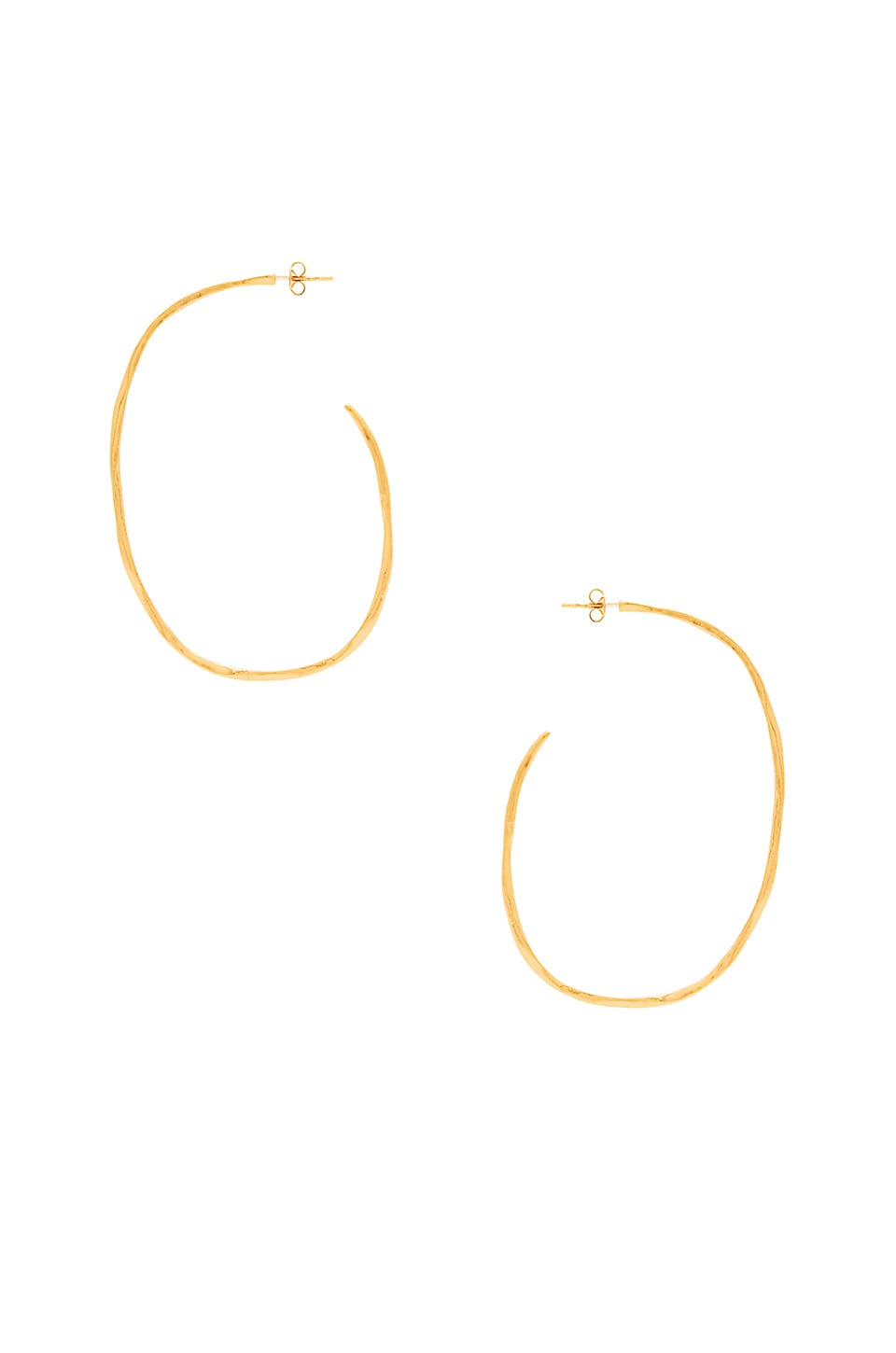 gorjana Laurel Large Hoops in Gold