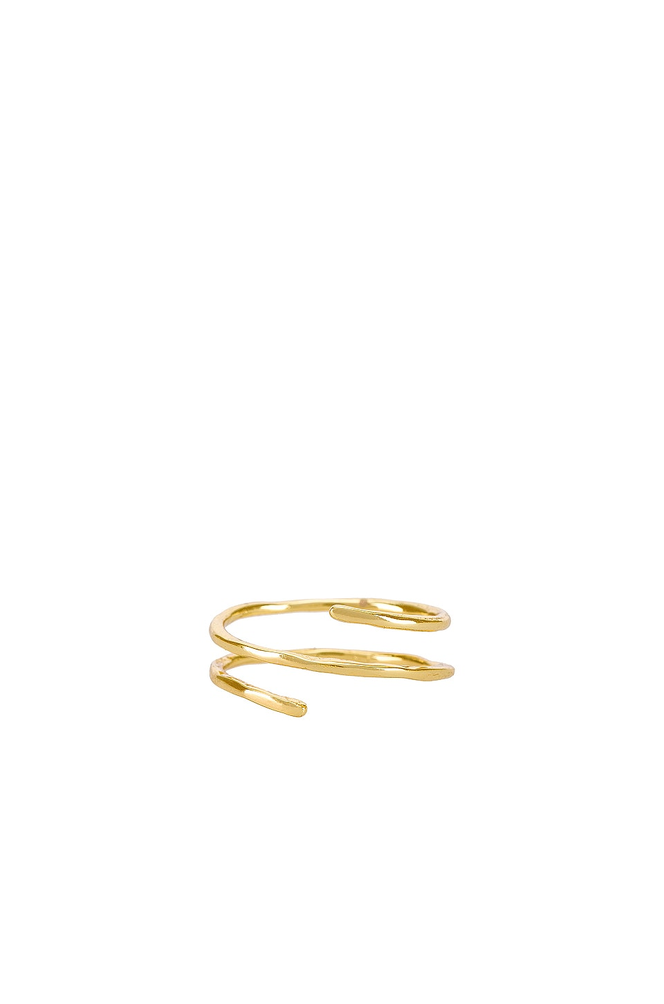 gorjana Taner Coil Ring in Gold