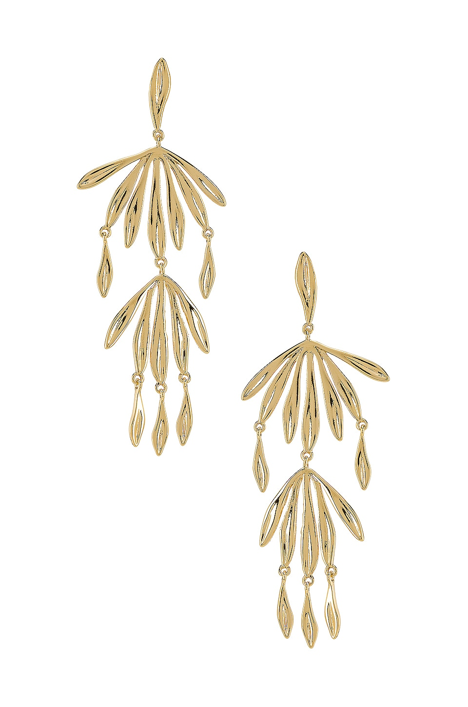 gorjana Petal Drop Earring in Gold