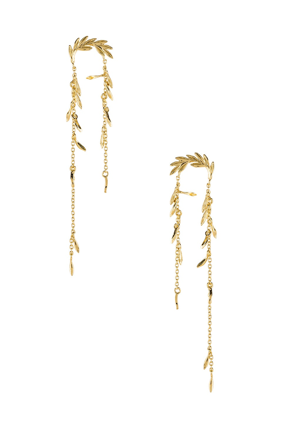gorjana Willow Earrings in Gold