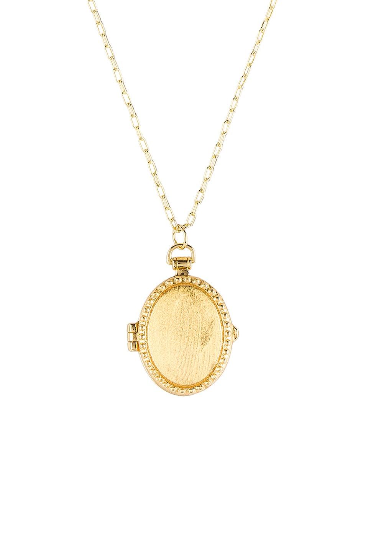 gorjana Bali Antique Locket Necklace in Gold