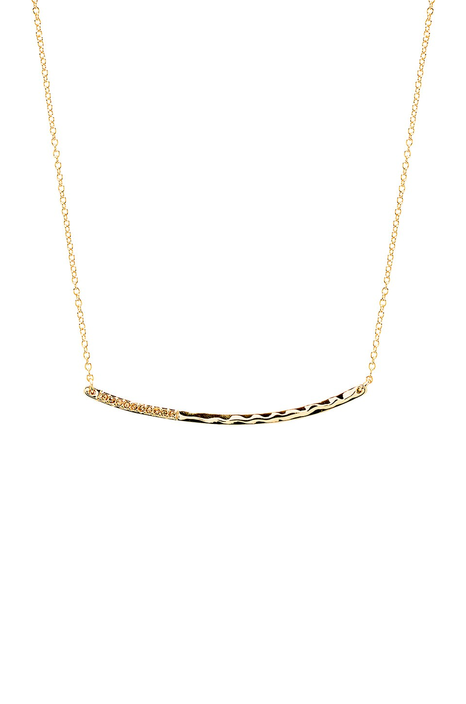 gorjana Taner Shimmer Necklace in Gold