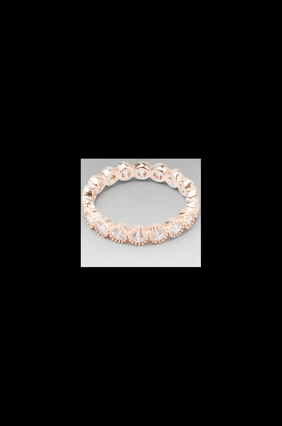 gorjana Madison Ring in Rosegold