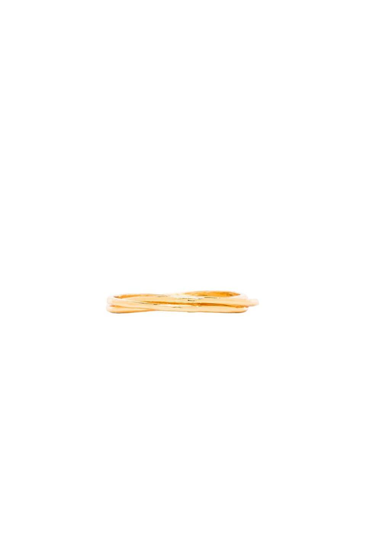 gorjana Infinity II Ring en Gold