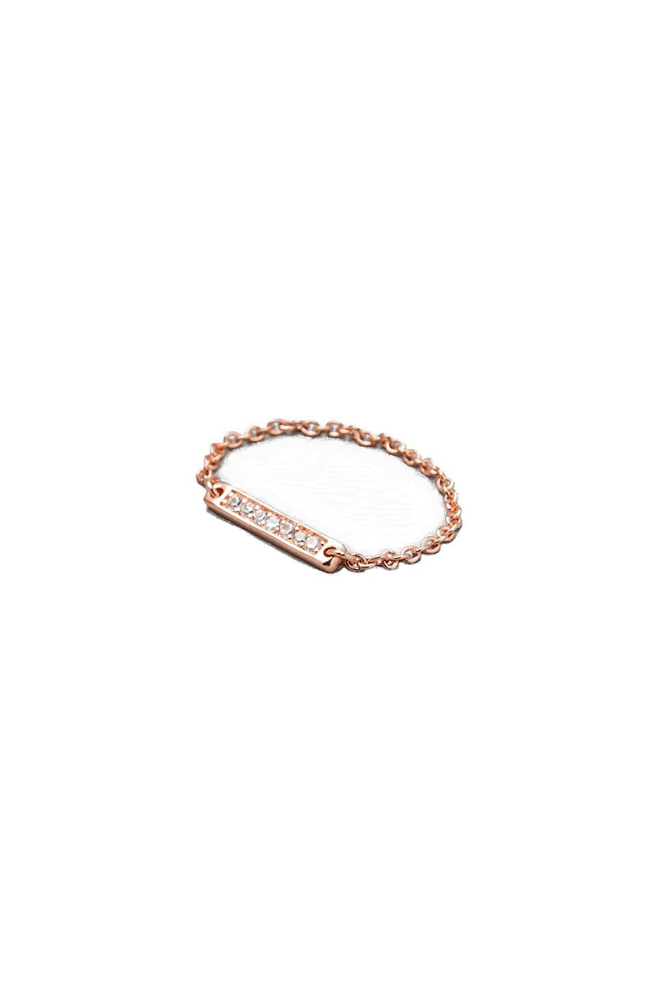 gorjana Kennedy Chain Ring in Rosegold