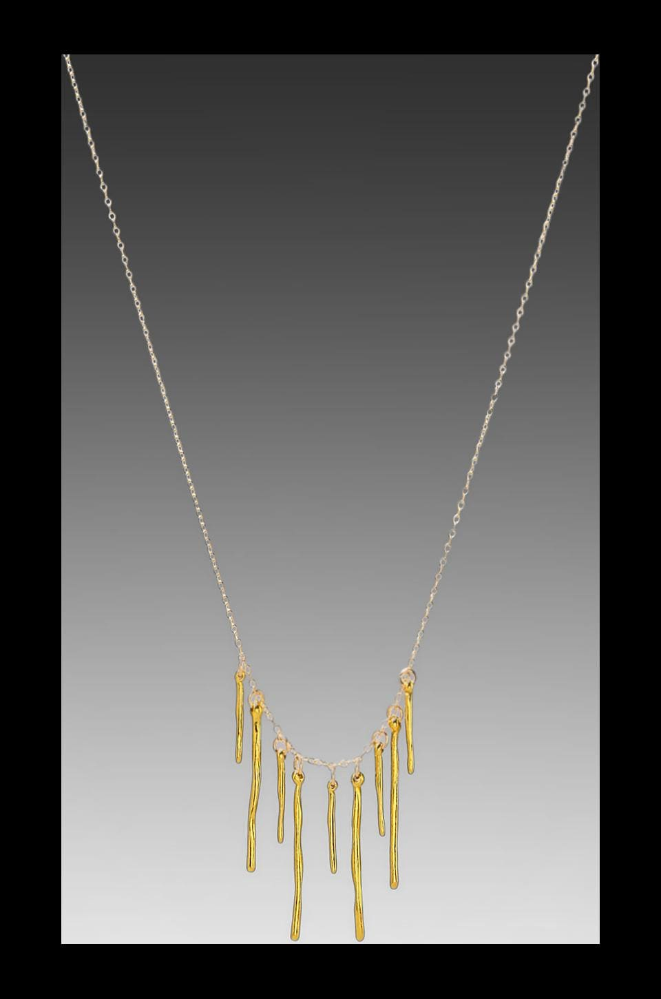 gorjana Taner Dagger Varied Necklace in Gold