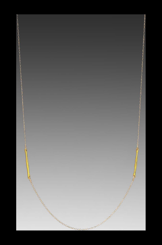 gorjana Taner Dagger Double Necklace in Gold