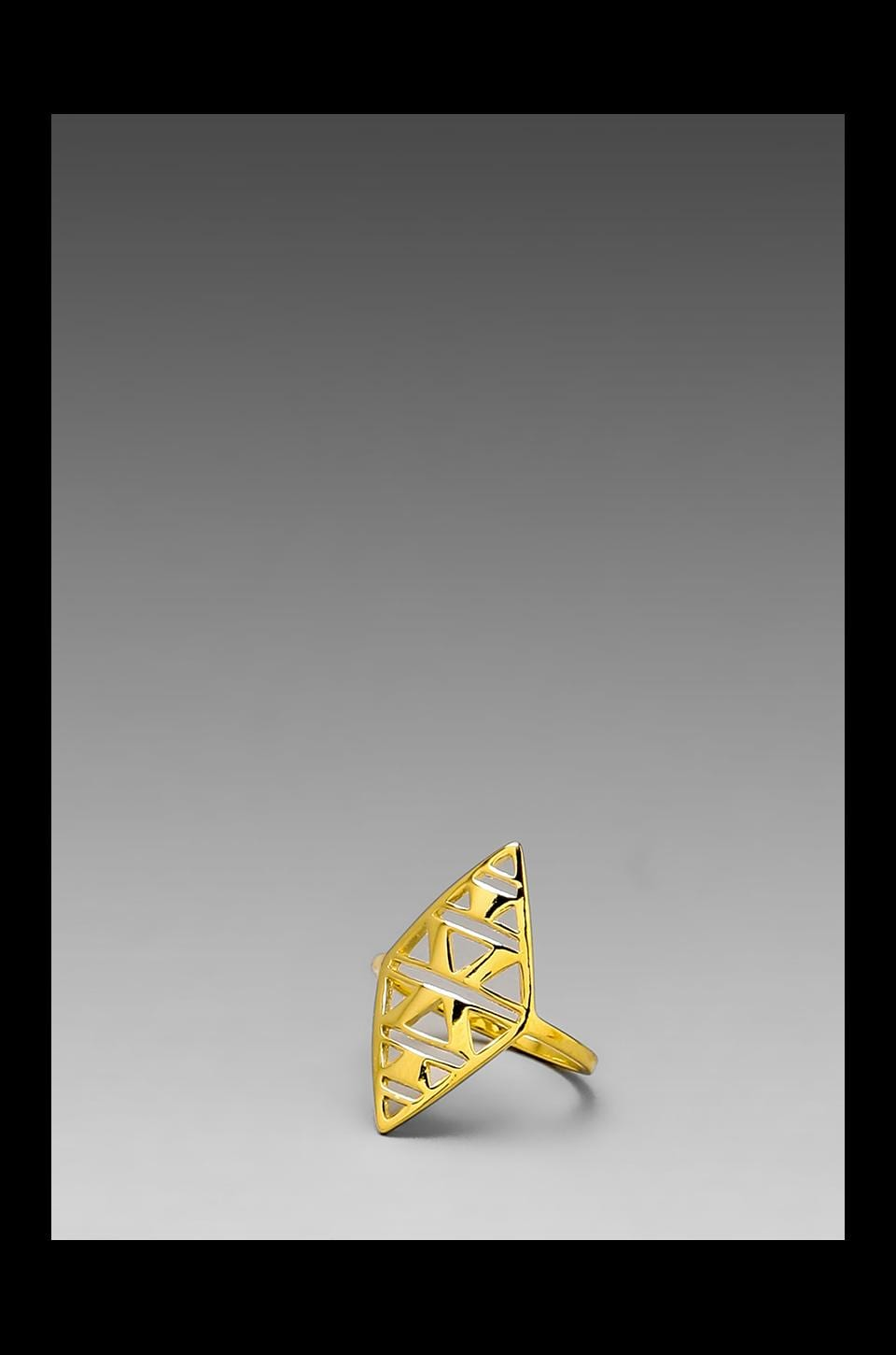 gorjana Kaia Ring in Gold