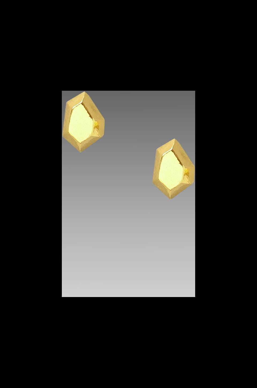 gorjana Blake Gem Studs in Gold