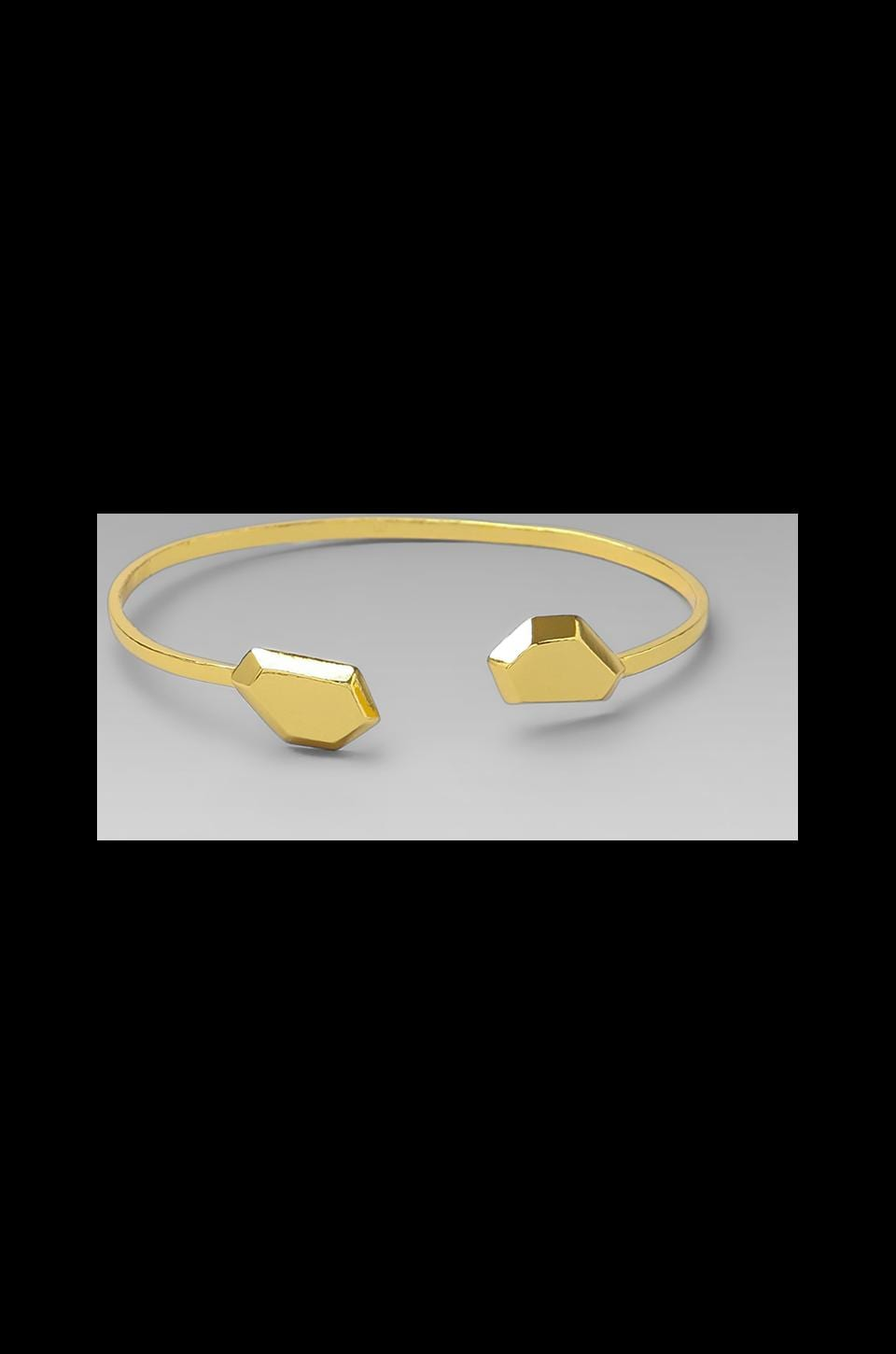 gorjana Blake Gem Cuff in Gold