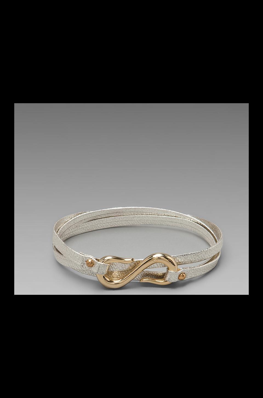 gorjana Sadie Triple Wrap Bracelet in Platino