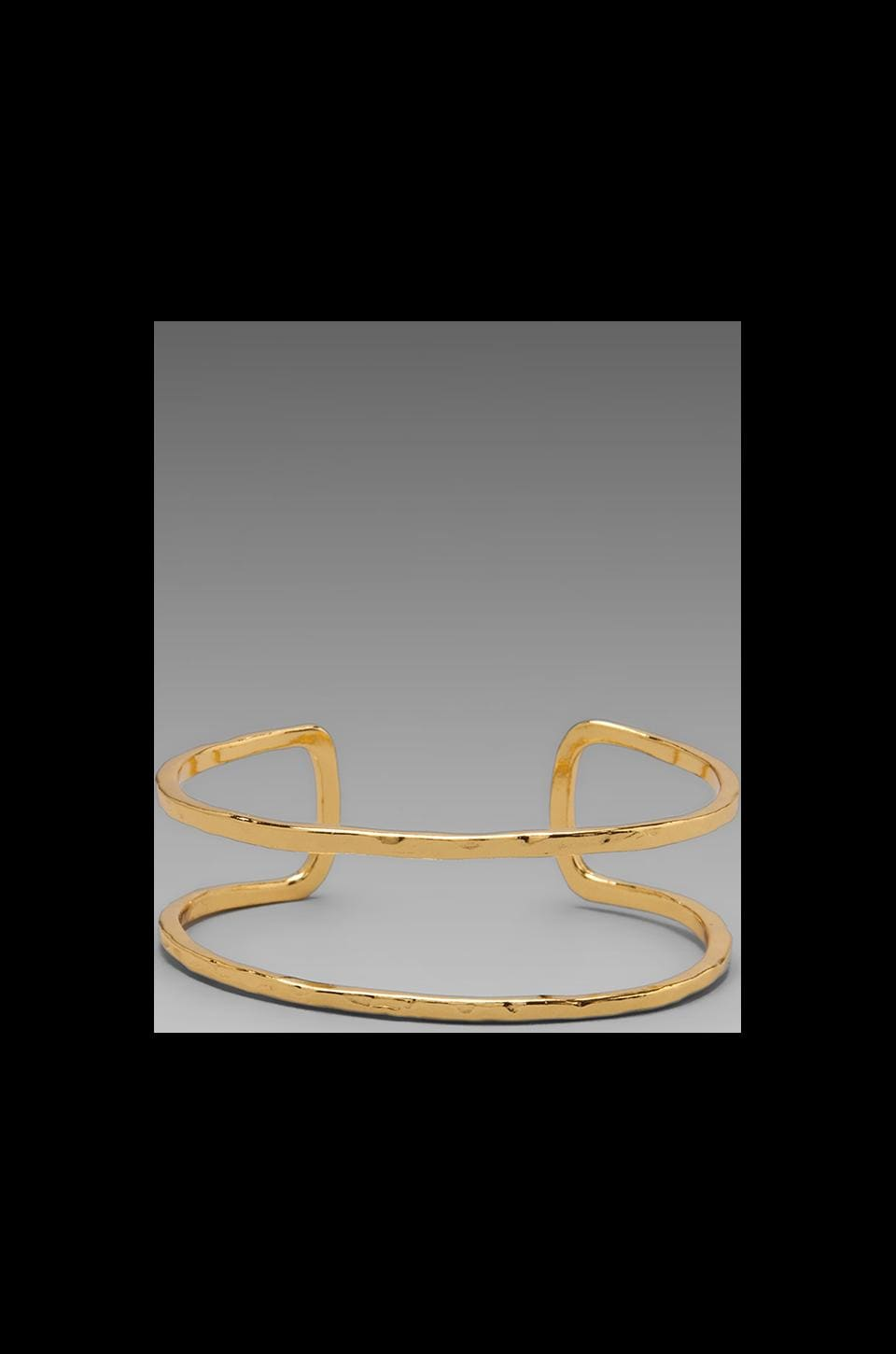 gorjana Teagan Cuff in Gold