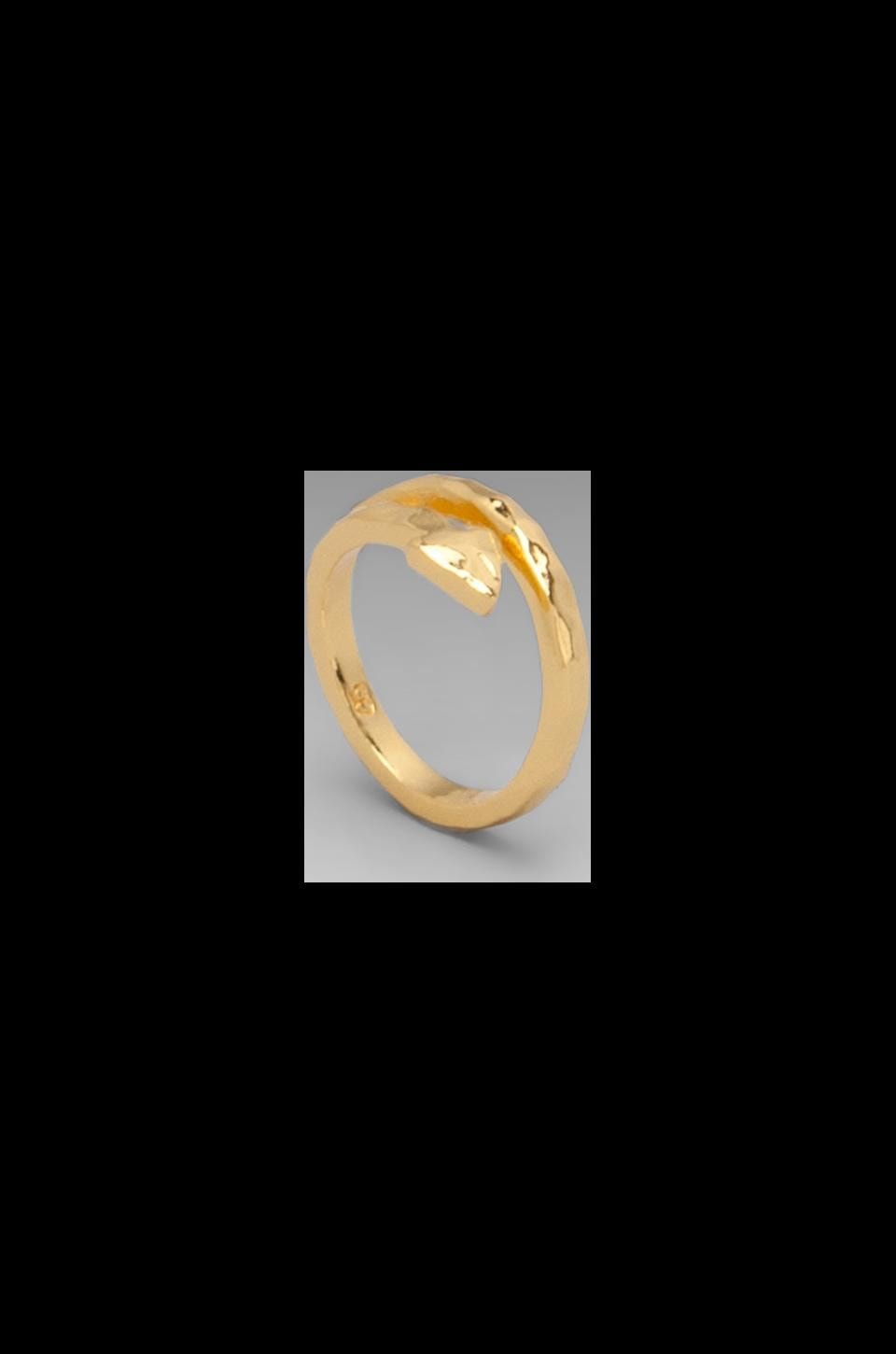 gorjana Arrow Wrap Ring in Gold