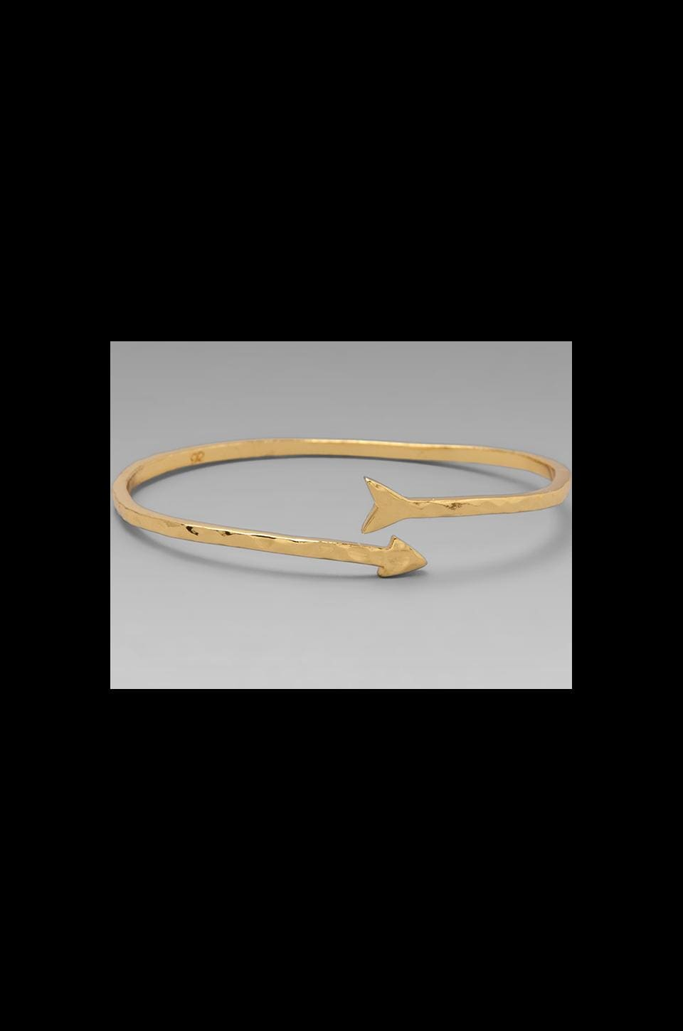 gorjana Arrow Cuff in Gold