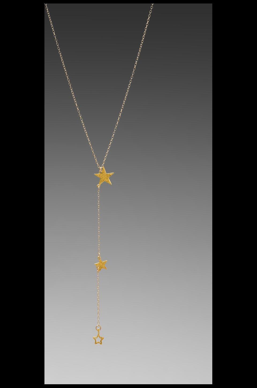 gorjana Super Star Lariat in Gold