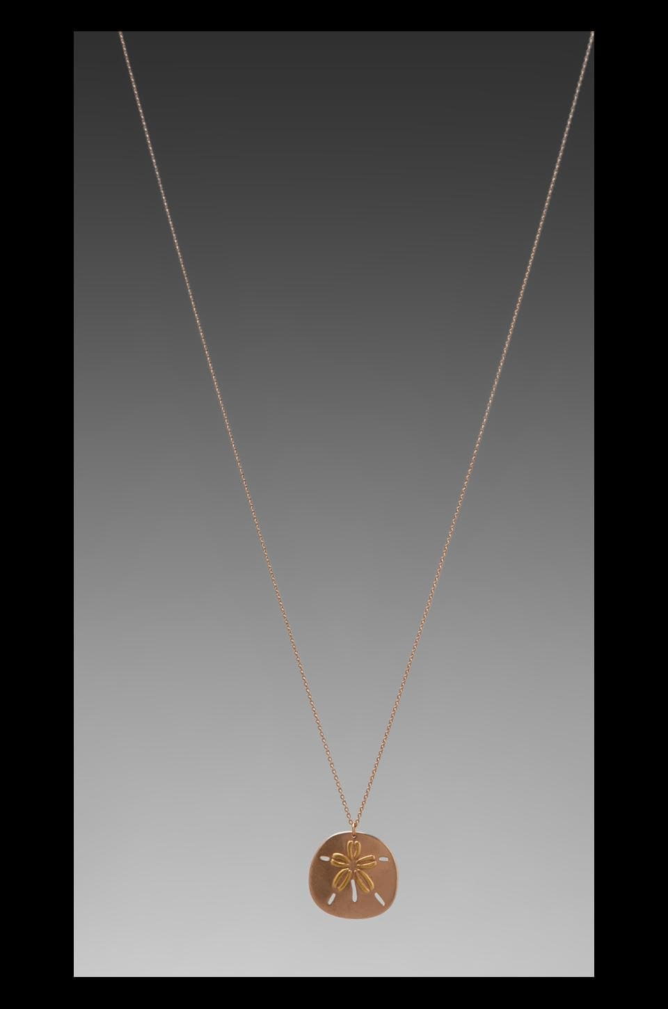 gorjana Sirena Necklace in Rose Gold