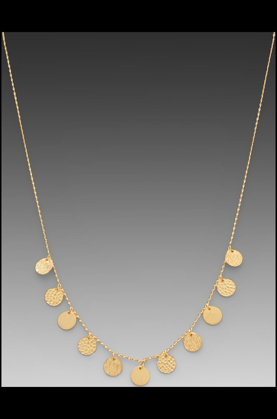 gorjana Fatima Necklace in Gold