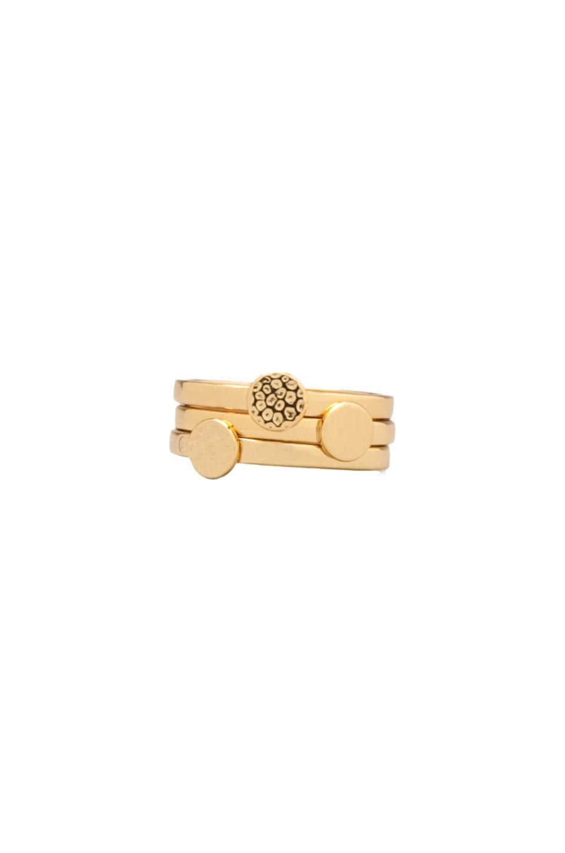 gorjana Fatima Ring Set in Gold
