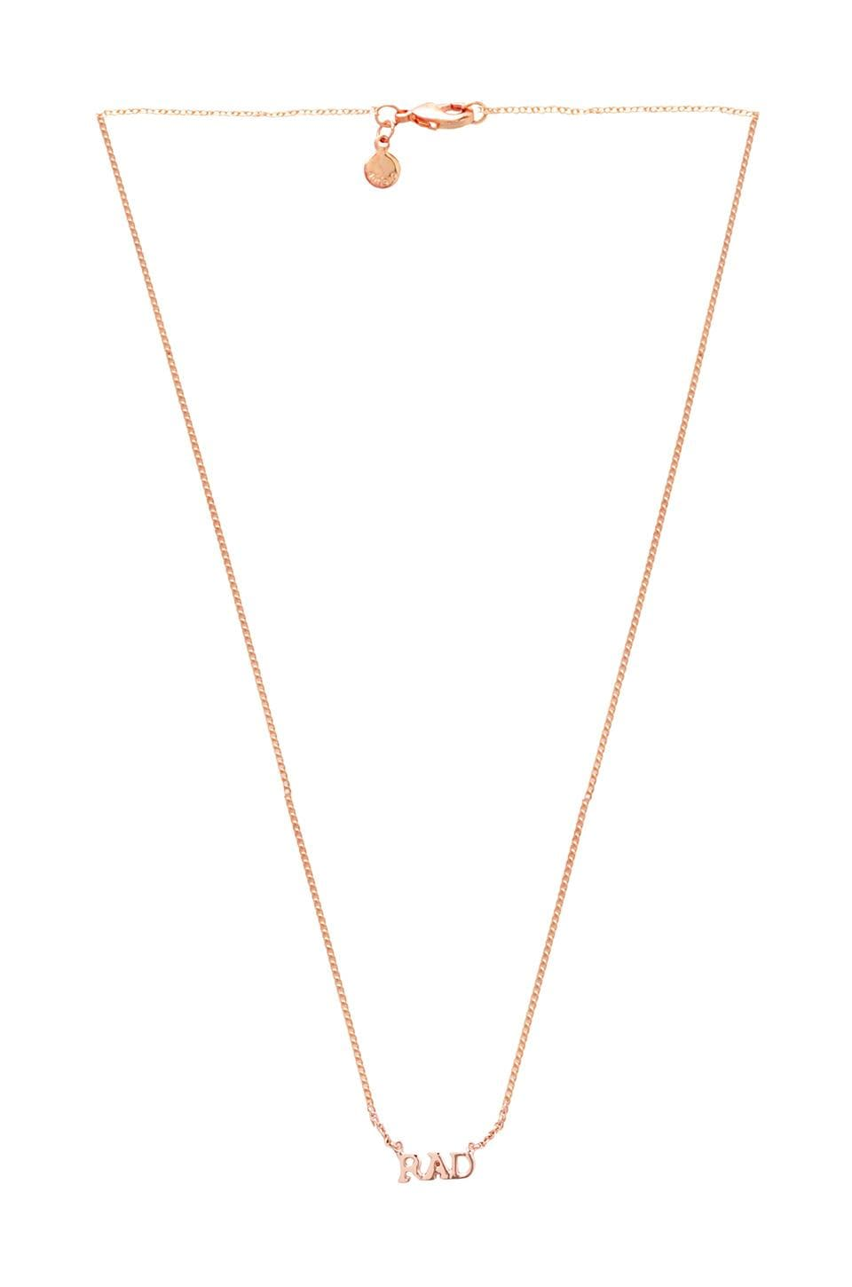 gorjana x REVOLVE Rad Necklace in Rosegold