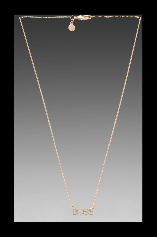 gorjana x REVOLVE Boss Necklace in Gold
