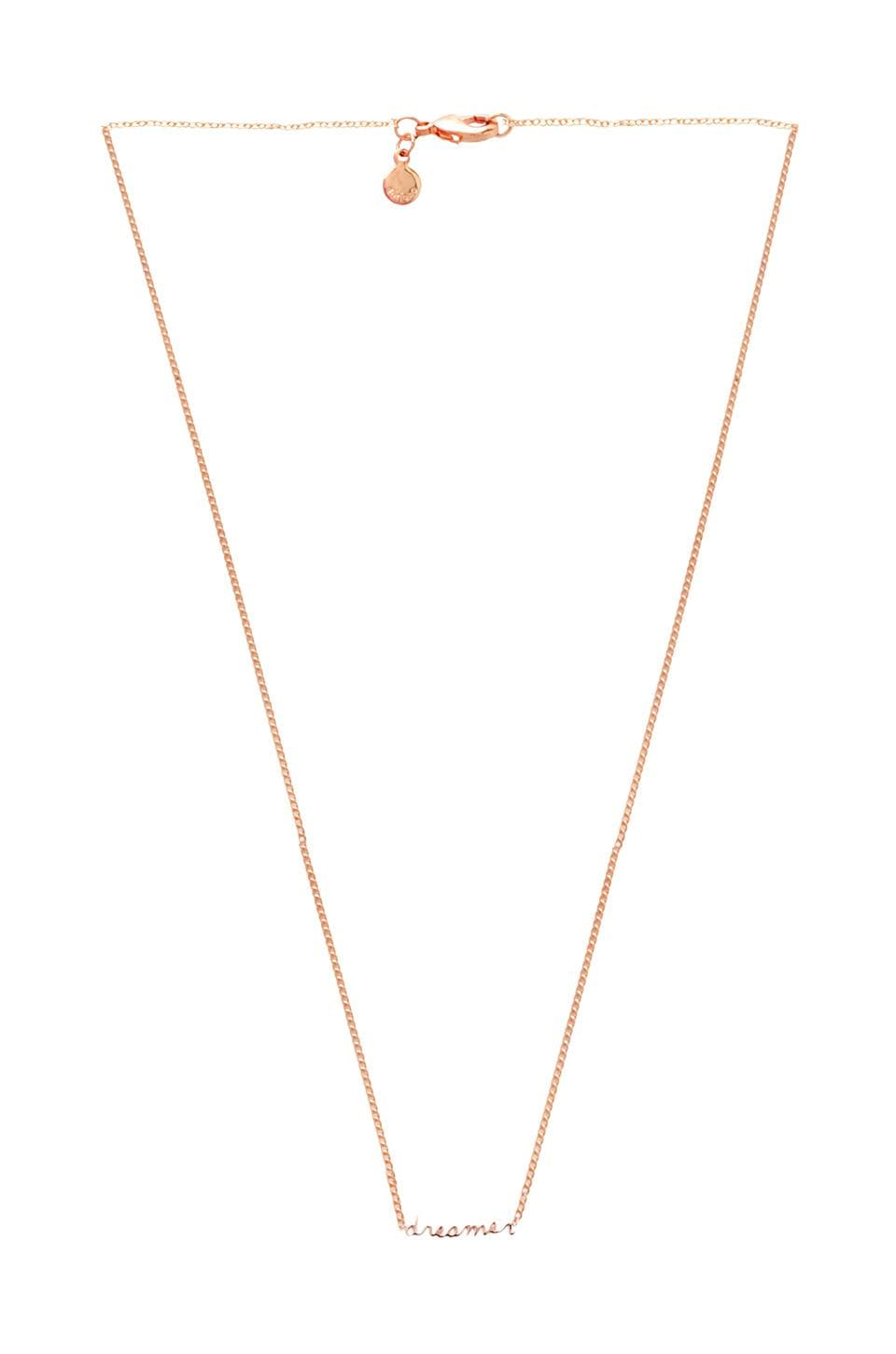 gorjana x REVOLVE EXCLUSIVE Dreamer Necklace in Rosegold