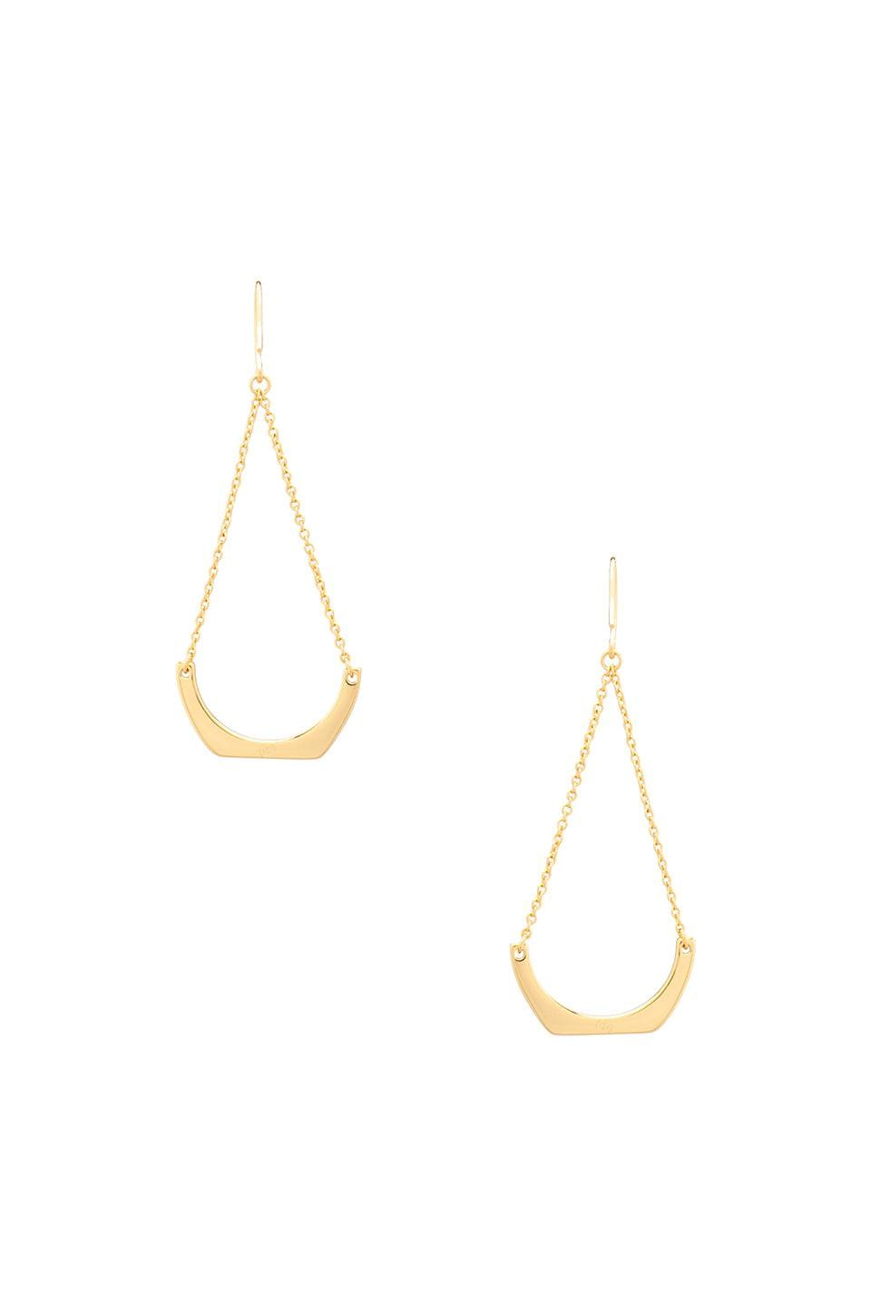 gorjana Aria Earrings in Gold