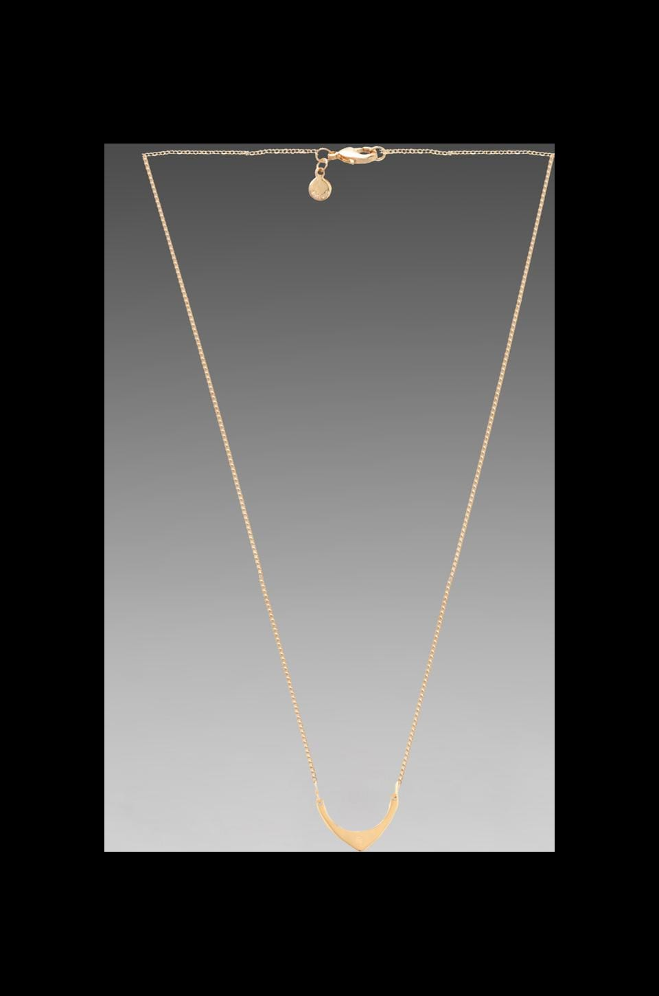 gorjana Aria Long Necklace in Gold