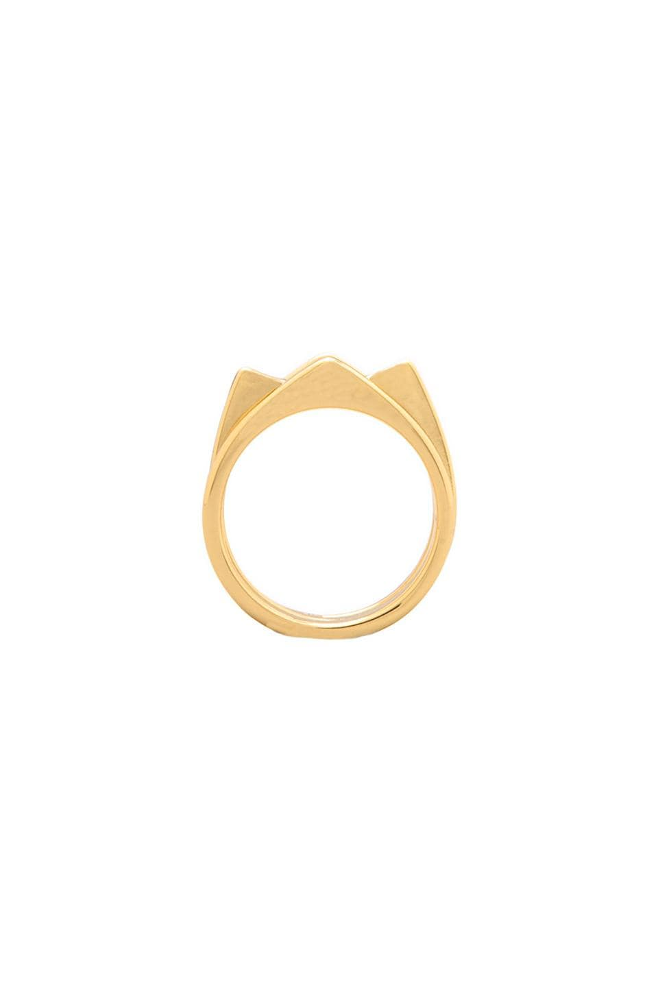 gorjana Aria Ring Set in Gold