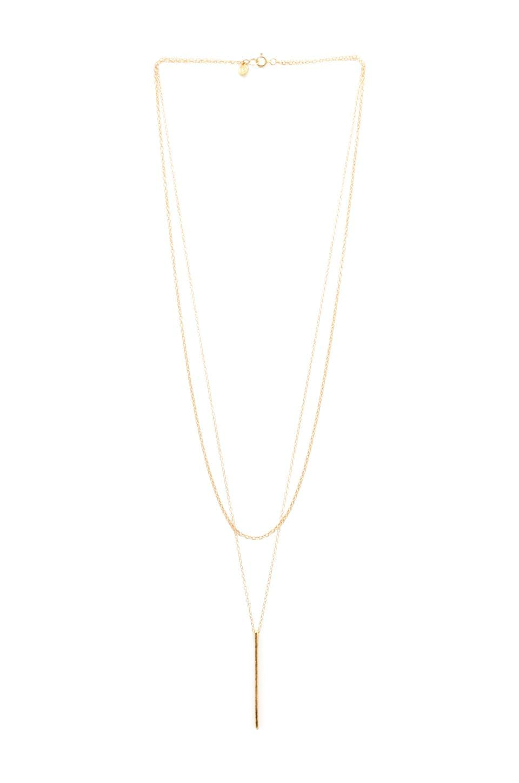 gorjana Pressed Taner Layer Necklace in Gold