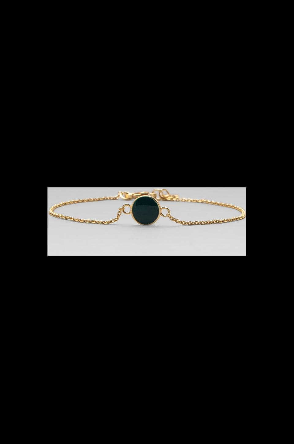 gorjana Sunset Disc Bracelet in Mare/Imperial Blue