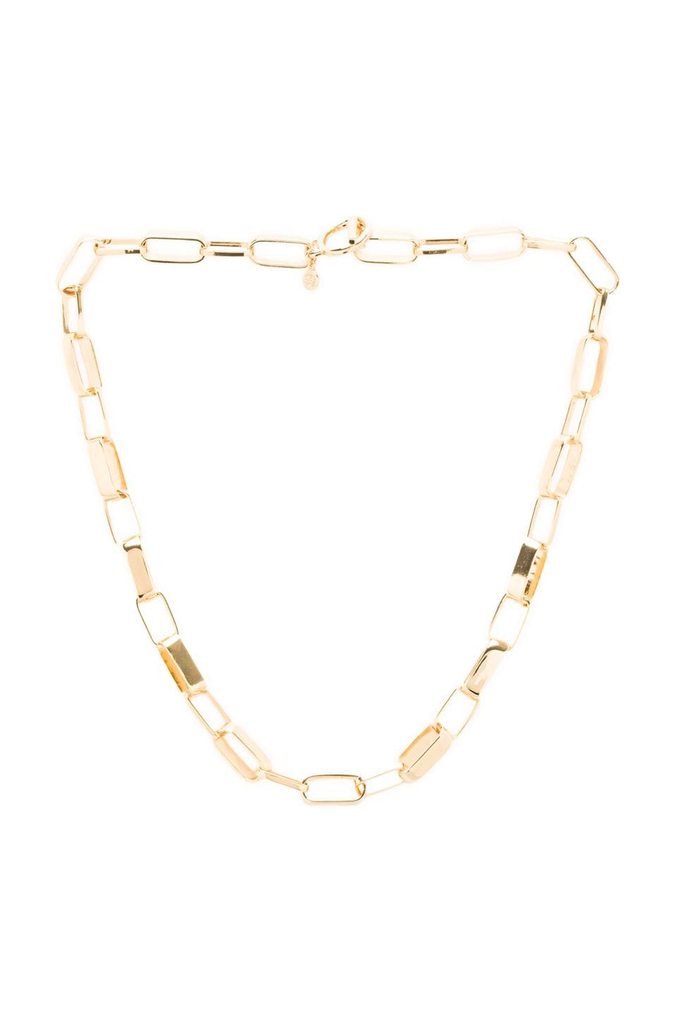 gorjana Bristol Link Necklace in Gold
