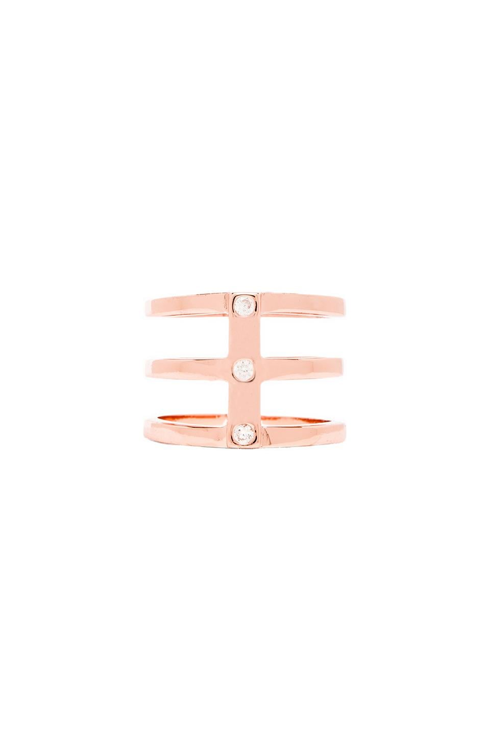 gorjana Lena Ring in Rose Gold