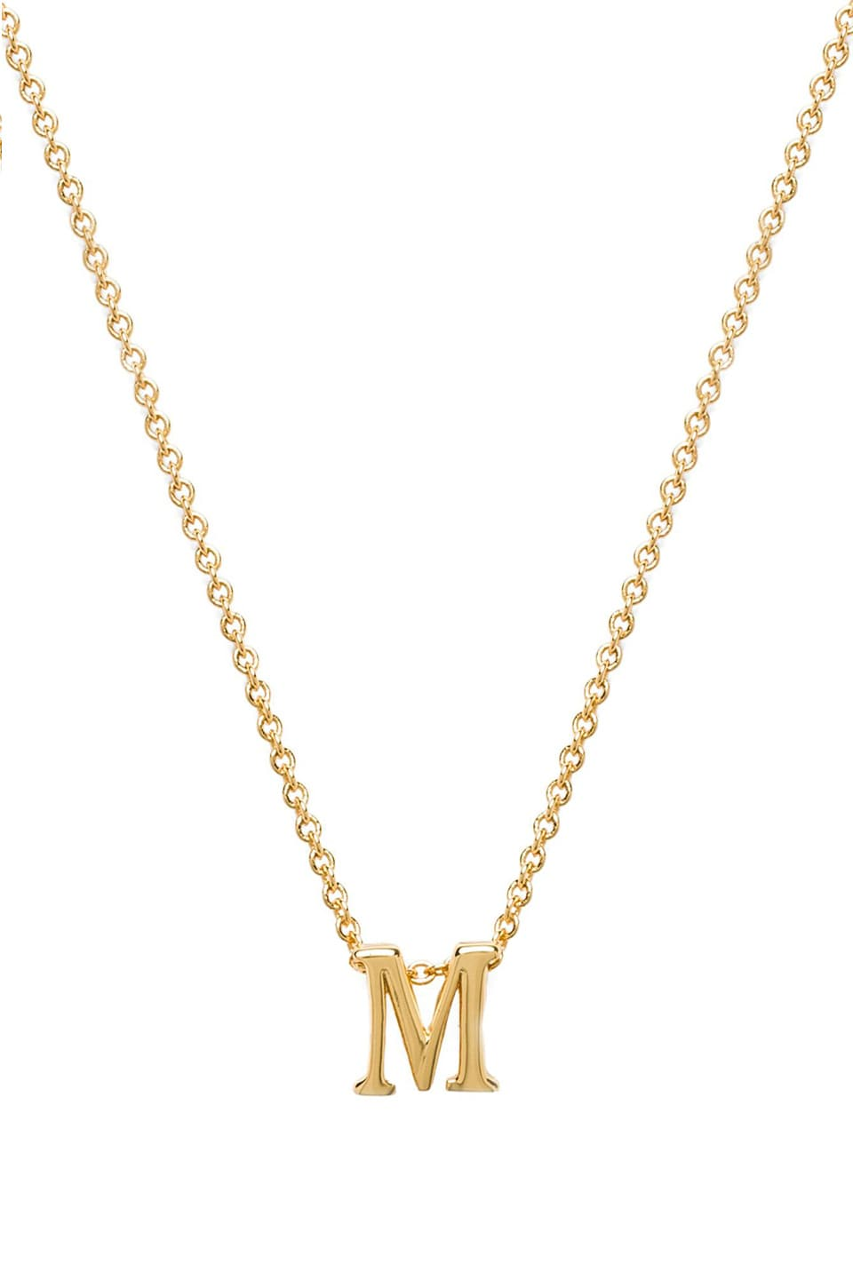 gorjana Alphabet Initial Necklace in