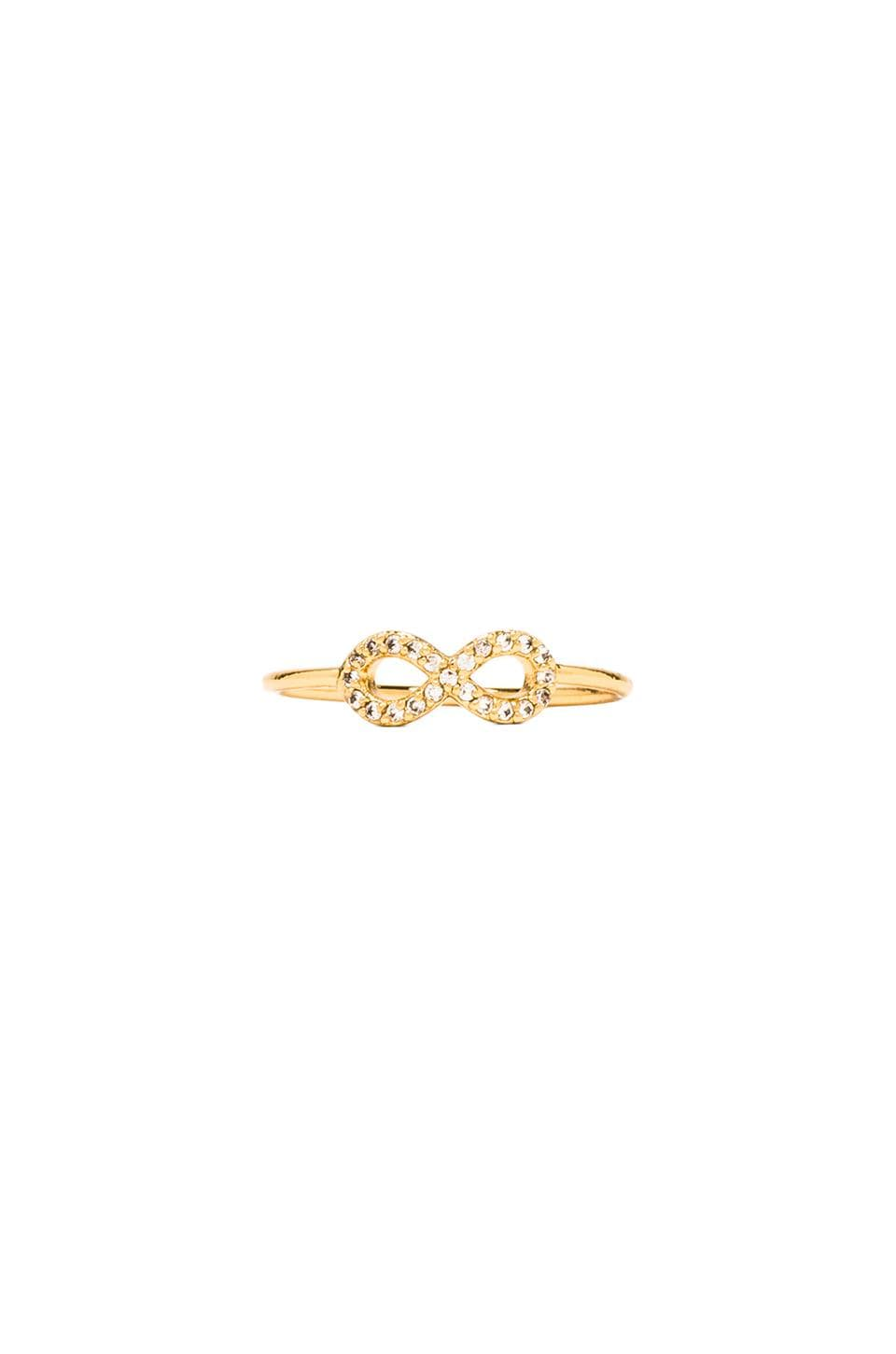 gorjana Shimmer Infinity Ring in Gold