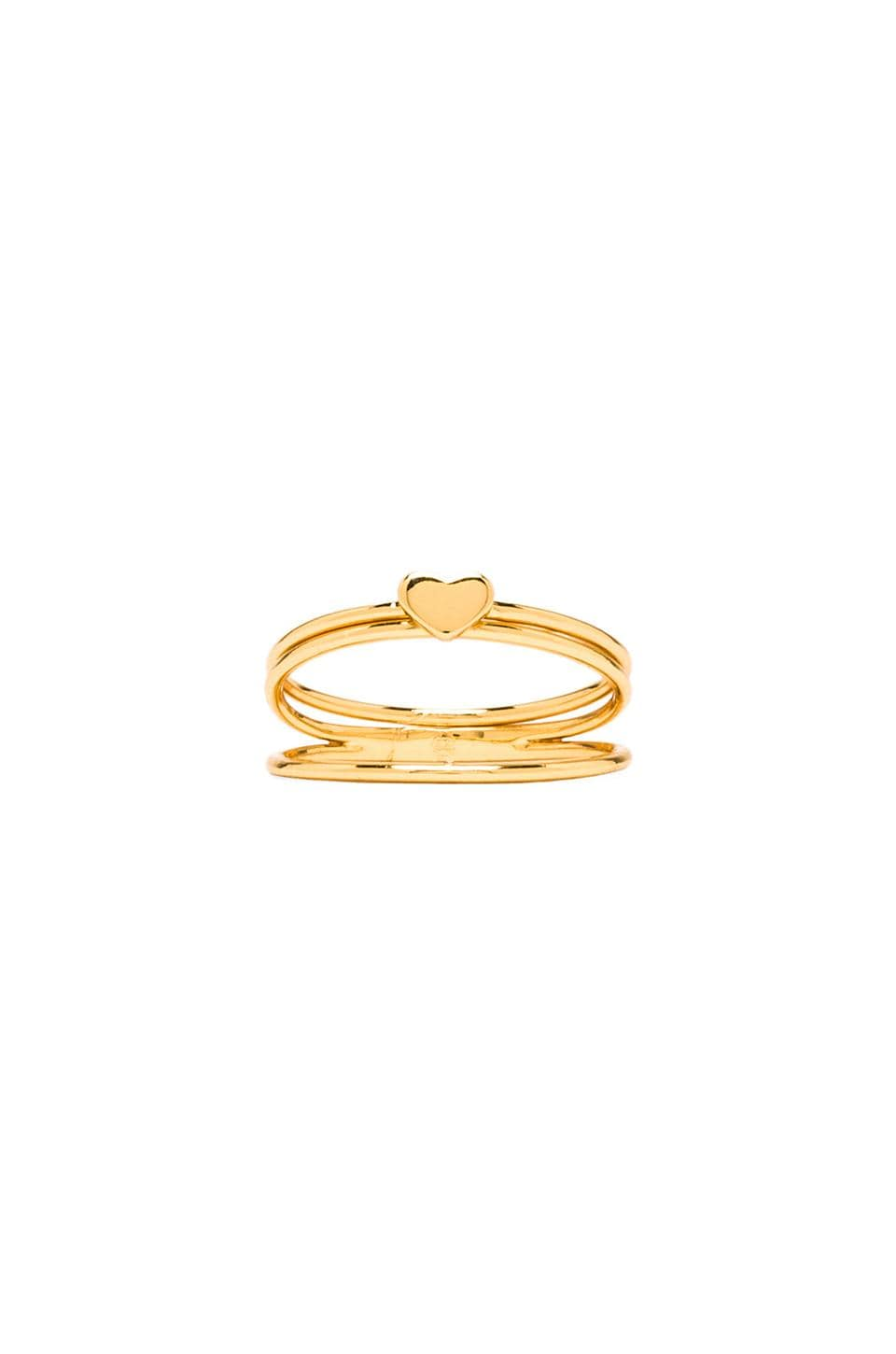 gorjana Carina Midi Ring in Gold