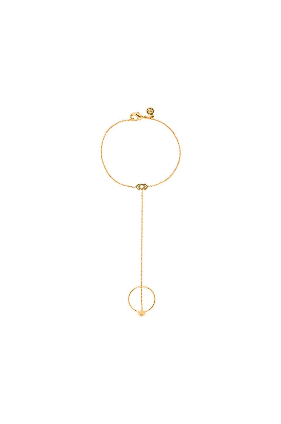 gorjana Azra Ring Bracelet in Gold