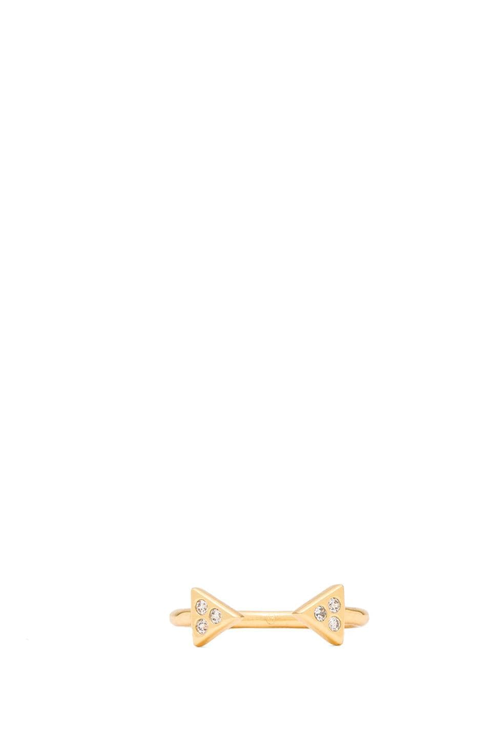 gorjana Artemis Cuff Ring in Gold
